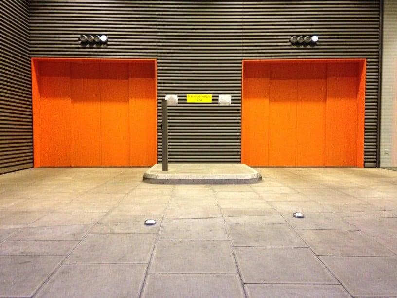 Βιομηχανικές πόρτες ασφαλείας γκαραζόπορτες