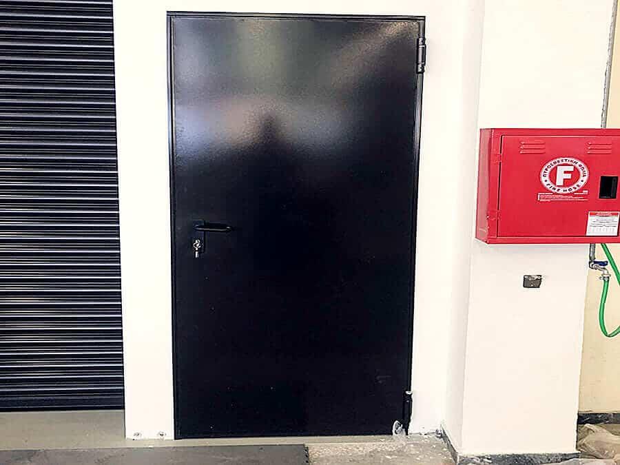 πόρτα πυρασφάλειας εργοστασίου